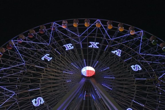 State Fair ferris wheel, taken by yours truly