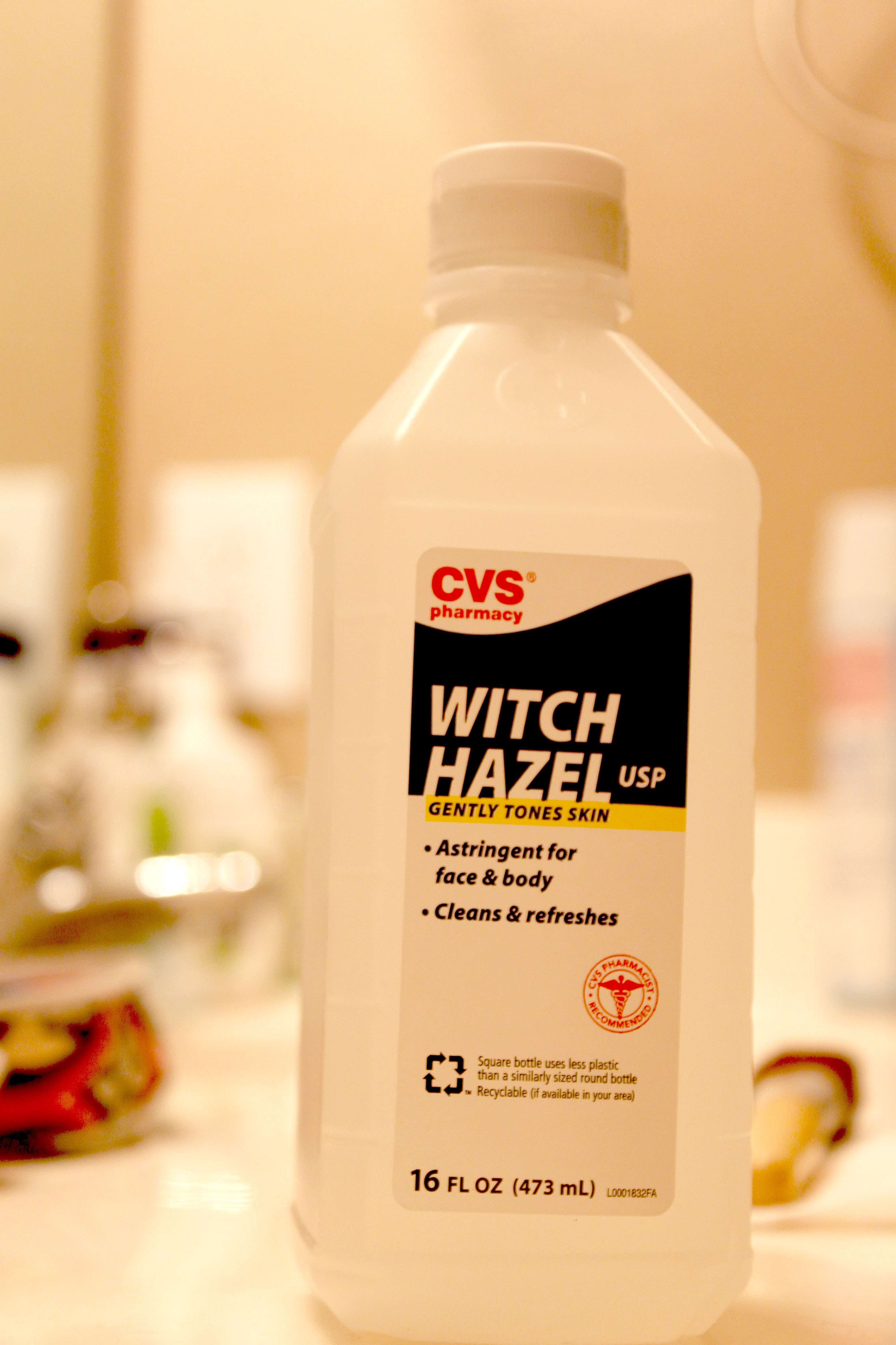 Cleaning Natural Hair With Witch Hazel