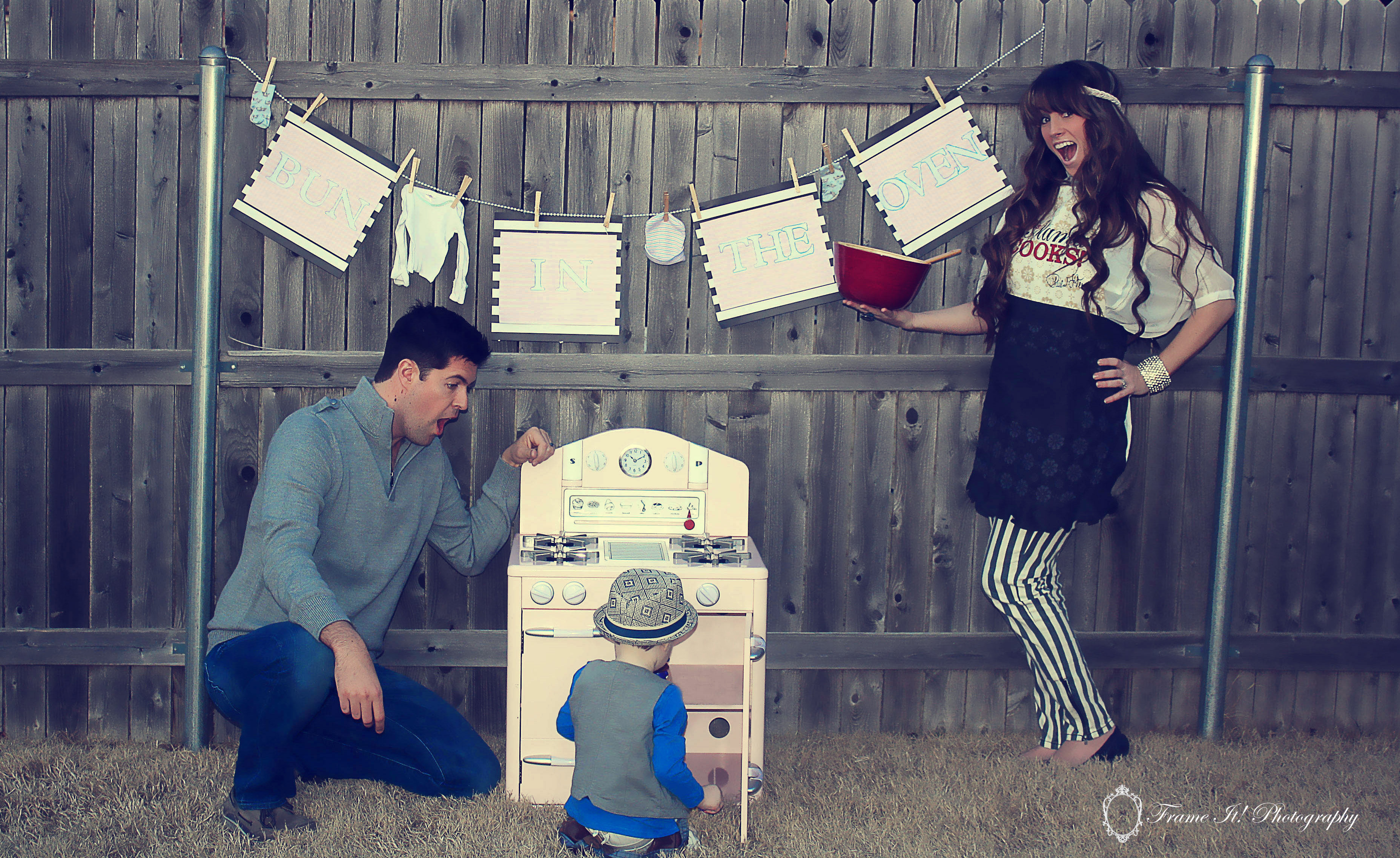 We Have a Bun In The Oven – Bun in the Oven Baby Announcement