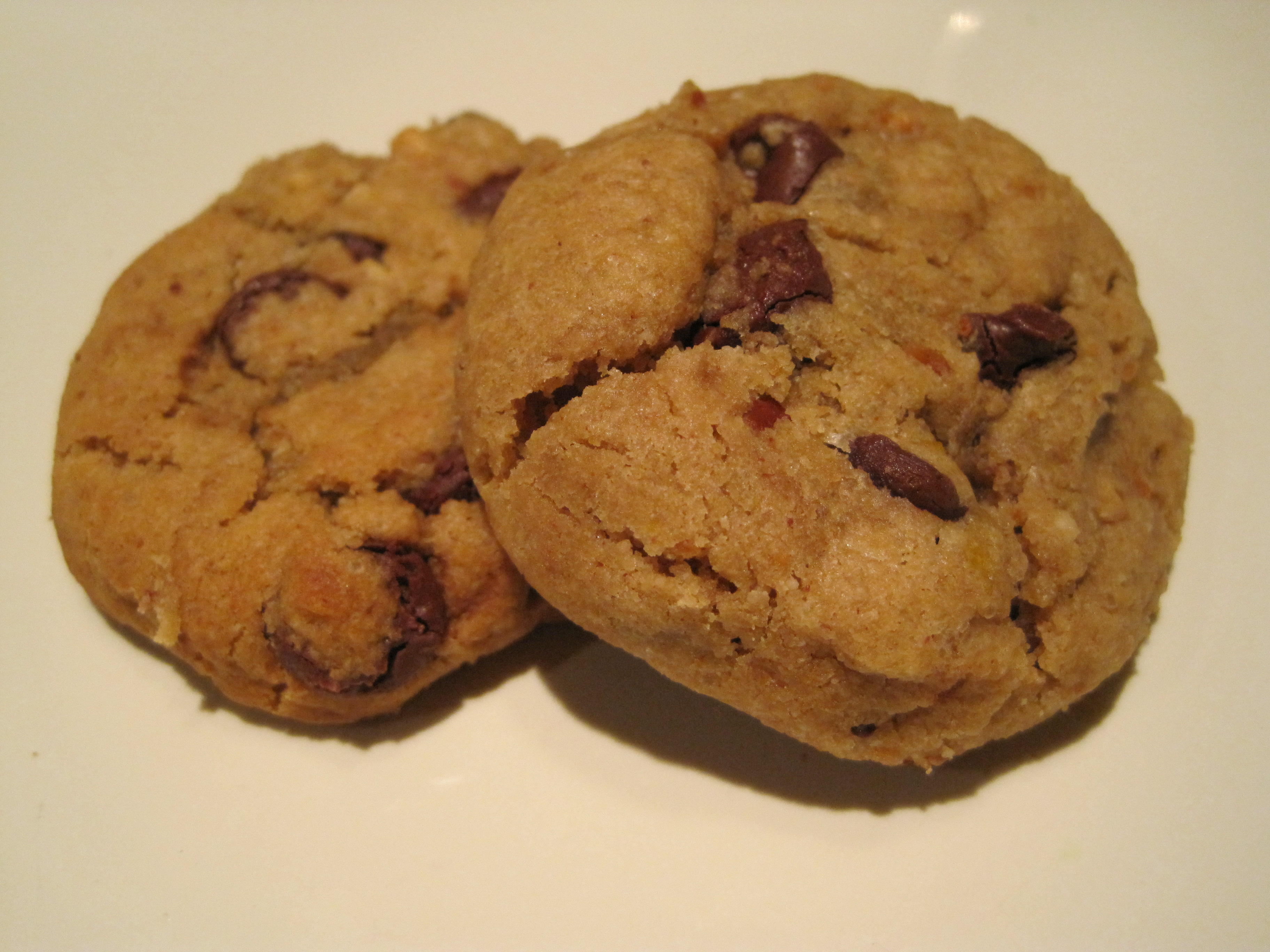 Soft and Chewy Peanut Butter Chocolate Chip Cookies | mrs. & the misc.