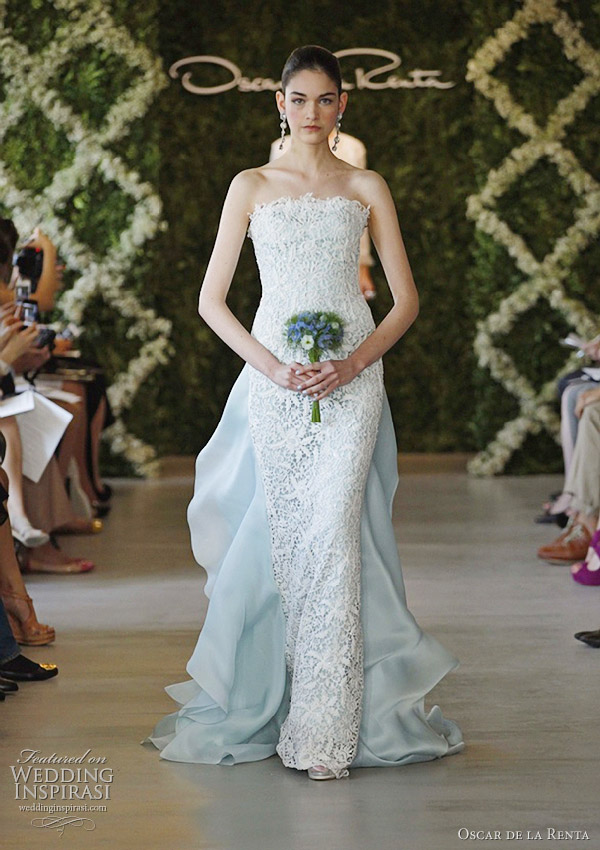 oscar-de-la-renta-spring-2013-color-wedding-dress
