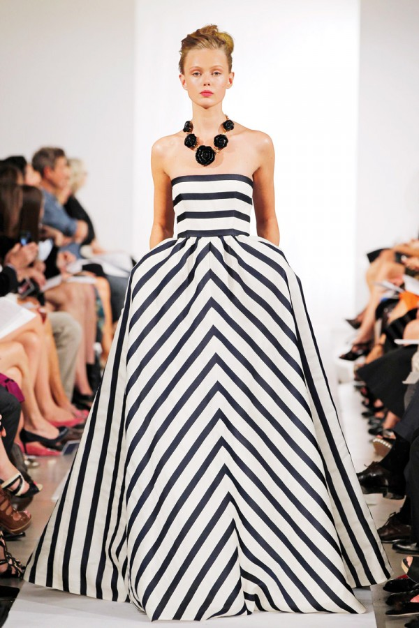 Spring-Fashion-2013-Trend-Stripes-Oscar-de-la-Renta-600×900 | mrs ...