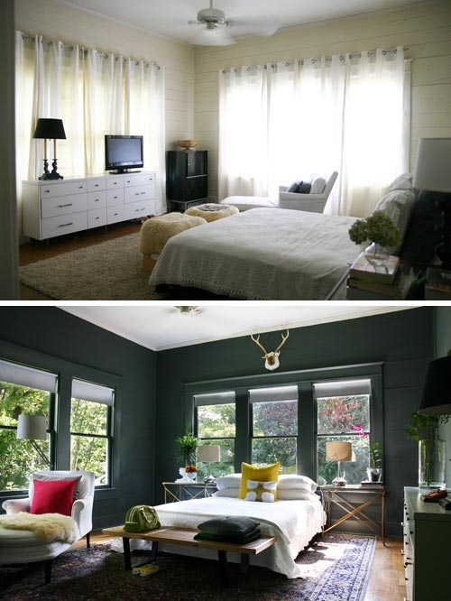 before-after-green-paint