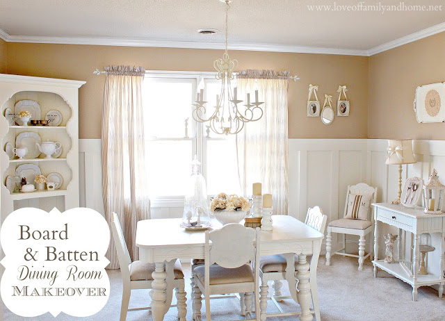 Board & Batten Dining Room Makeover 3