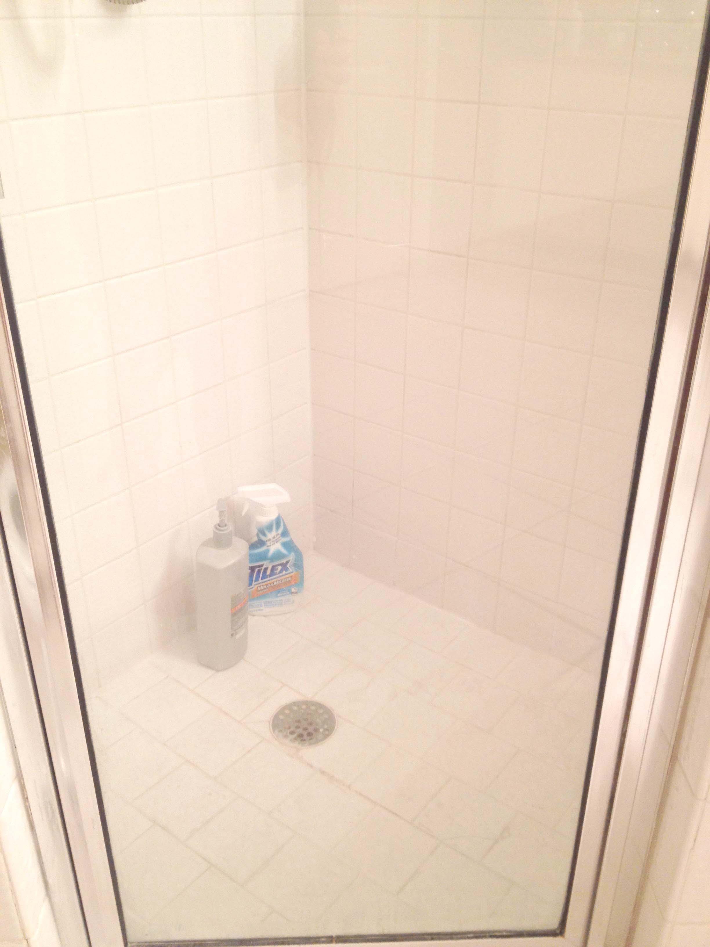 Clean Tile Shower With Vinegar