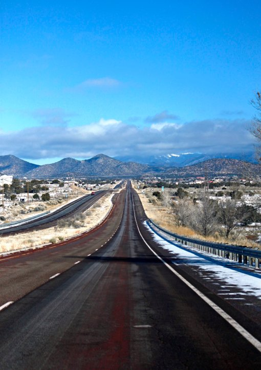 Driving to Chimayo, NM