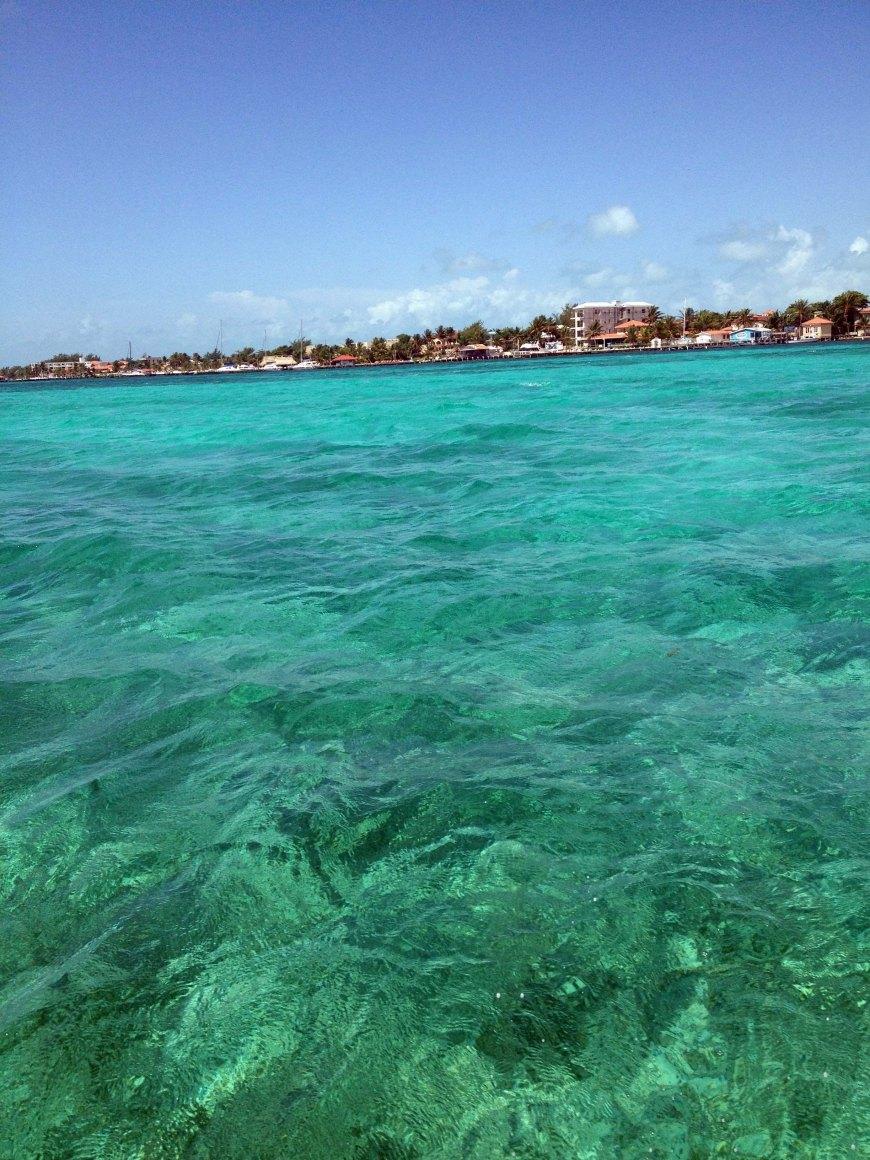 the island water