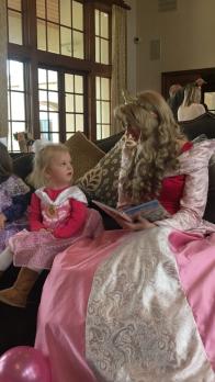 Princess storytime.